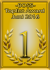 Toplisten Gewinner Juni 2016