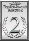 Toplisten Gewinner Juli 2016